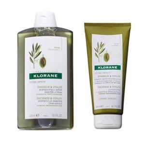 Klorane Shampoo and Conditioner with Olive Extract